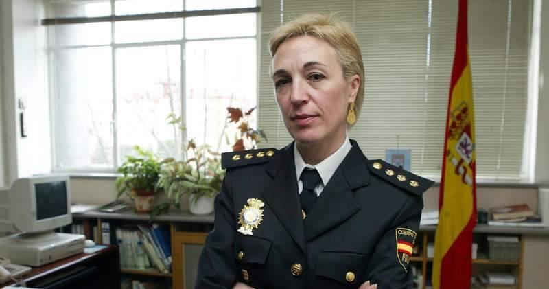 Nacional de Policía, María Marcos Salvador. Foto Opinión de Zamora
